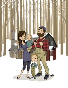 RAPH FAMILY PRINTrvb